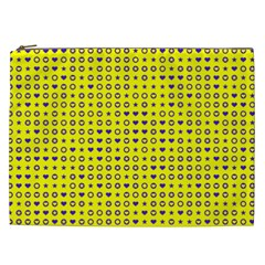 Heart Circle Star Seamless Pattern Cosmetic Bag (xxl)