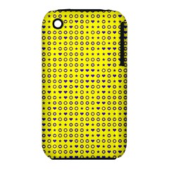 Heart Circle Star Seamless Pattern Iphone 3s/3gs