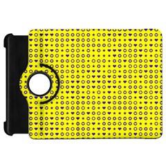 Heart Circle Star Seamless Pattern Kindle Fire Hd 7