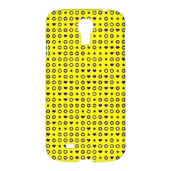 Heart Circle Star Seamless Pattern Samsung Galaxy S4 I9500/i9505 Hardshell Case