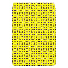 Heart Circle Star Seamless Pattern Flap Covers (s)