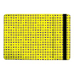 Heart Circle Star Seamless Pattern Samsung Galaxy Tab Pro 10 1  Flip Case