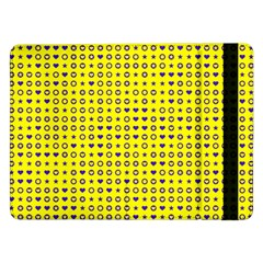 Heart Circle Star Seamless Pattern Samsung Galaxy Tab Pro 12 2  Flip Case