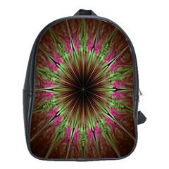 Julian Star Star Fun Green Violet School Bags(large)