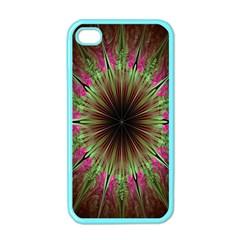 Julian Star Star Fun Green Violet Apple iPhone 4 Case (Color)