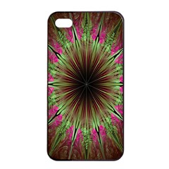 Julian Star Star Fun Green Violet Apple Iphone 4/4s Seamless Case (black)