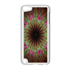 Julian Star Star Fun Green Violet Apple Ipod Touch 5 Case (white)