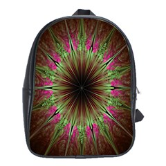 Julian Star Star Fun Green Violet School Bags (xl)