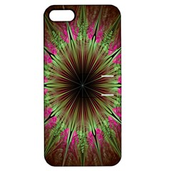 Julian Star Star Fun Green Violet Apple Iphone 5 Hardshell Case With Stand