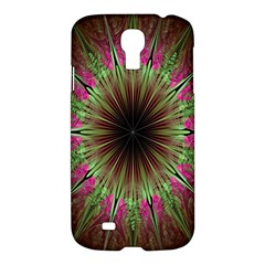Julian Star Star Fun Green Violet Samsung Galaxy S4 I9500/i9505 Hardshell Case