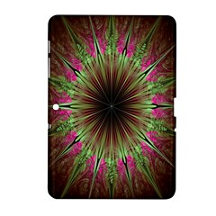 Julian Star Star Fun Green Violet Samsung Galaxy Tab 2 (10 1 ) P5100 Hardshell Case