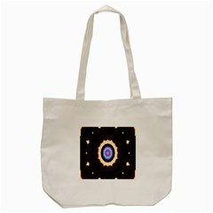 Mandala Art Design Pattern Ornament Flower Floral Tote Bag (cream)