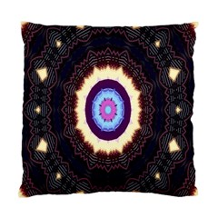 Mandala Art Design Pattern Ornament Flower Floral Standard Cushion Case (two Sides)