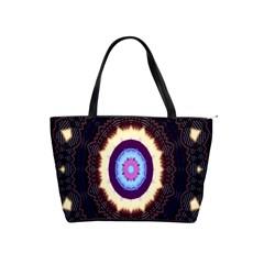Mandala Art Design Pattern Ornament Flower Floral Shoulder Handbags
