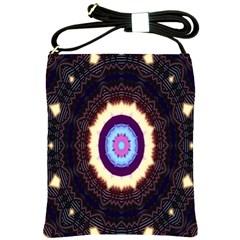 Mandala Art Design Pattern Ornament Flower Floral Shoulder Sling Bags