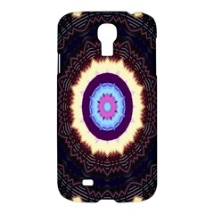 Mandala Art Design Pattern Ornament Flower Floral Samsung Galaxy S4 I9500/i9505 Hardshell Case