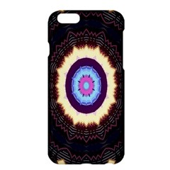 Mandala Art Design Pattern Ornament Flower Floral Apple Iphone 6 Plus/6s Plus Hardshell Case