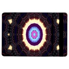 Mandala Art Design Pattern Ornament Flower Floral Ipad Air 2 Flip