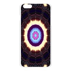 Mandala Art Design Pattern Ornament Flower Floral Apple Seamless iPhone 6 Plus/6S Plus Case (Transparent)