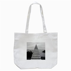 Steps To Success Follow Tote Bag (white)