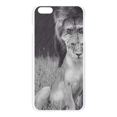 King and Queen of the jungle design  Apple Seamless iPhone 6 Plus/6S Plus Case (Transparent)