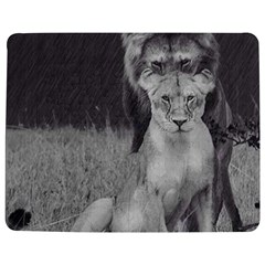 King and Queen of the jungle design  Jigsaw Puzzle Photo Stand (Rectangular)