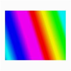 Multi Color Rainbow Background Small Glasses Cloth