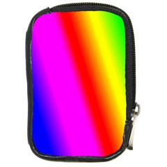 Multi Color Rainbow Background Compact Camera Cases