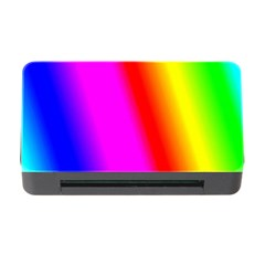 Multi Color Rainbow Background Memory Card Reader With Cf