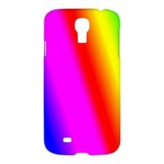Multi Color Rainbow Background Samsung Galaxy S4 I9500/i9505 Hardshell Case