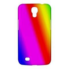 Multi Color Rainbow Background Samsung Galaxy Mega 6 3  I9200 Hardshell Case