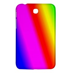 Multi Color Rainbow Background Samsung Galaxy Tab 3 (7 ) P3200 Hardshell Case