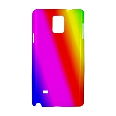 Multi Color Rainbow Background Samsung Galaxy Note 4 Hardshell Case