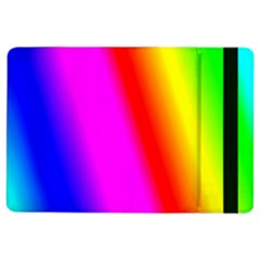 Multi Color Rainbow Background Ipad Air 2 Flip