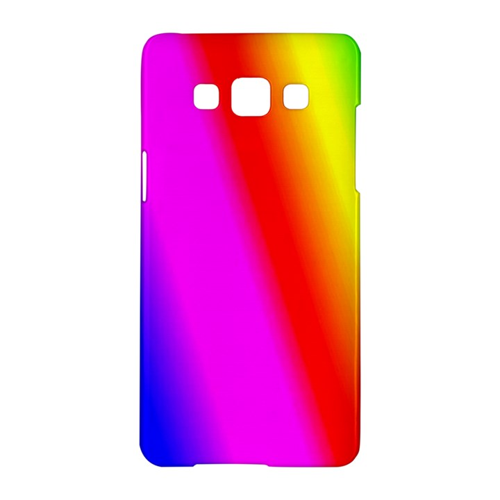 Multi Color Rainbow Background Samsung Galaxy A5 Hardshell Case