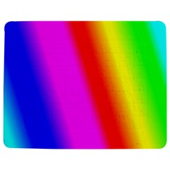 Multi Color Rainbow Background Jigsaw Puzzle Photo Stand (Rectangular)