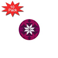 Pattern Background Texture Aztec 1  Mini Buttons (10 pack)