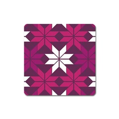Pattern Background Texture Aztec Square Magnet