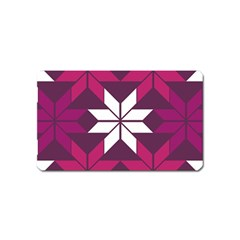 Pattern Background Texture Aztec Magnet (Name Card)