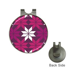 Pattern Background Texture Aztec Hat Clips With Golf Markers