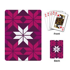 Pattern Background Texture Aztec Playing Card