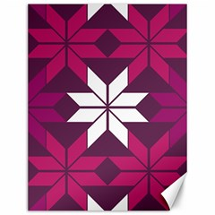 Pattern Background Texture Aztec Canvas 12  x 16