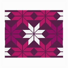 Pattern Background Texture Aztec Small Glasses Cloth (2 Side)