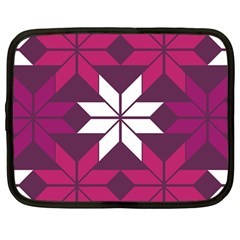 Pattern Background Texture Aztec Netbook Case (Large)