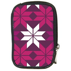 Pattern Background Texture Aztec Compact Camera Cases