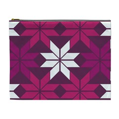Pattern Background Texture Aztec Cosmetic Bag (xl)