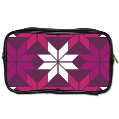 Pattern Background Texture Aztec Toiletries Bags 2 Side