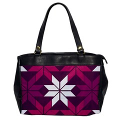 Pattern Background Texture Aztec Office Handbags