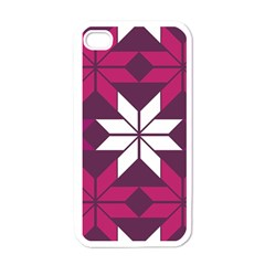 Pattern Background Texture Aztec Apple Iphone 4 Case (white)