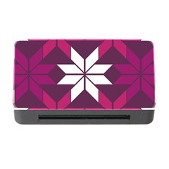 Pattern Background Texture Aztec Memory Card Reader With Cf